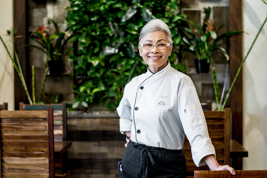 Dee Buizer, chef and owner of Senae Thai Bistro (Credit: Jackie Tran)