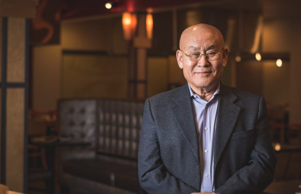 Kwang An, also known as Mr. An, at his restaurant Mr. An's (Credit: Jackie Tran)